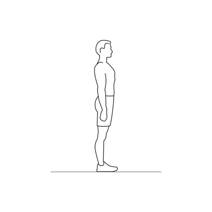 Fitness vector illustration showing lunges exercise